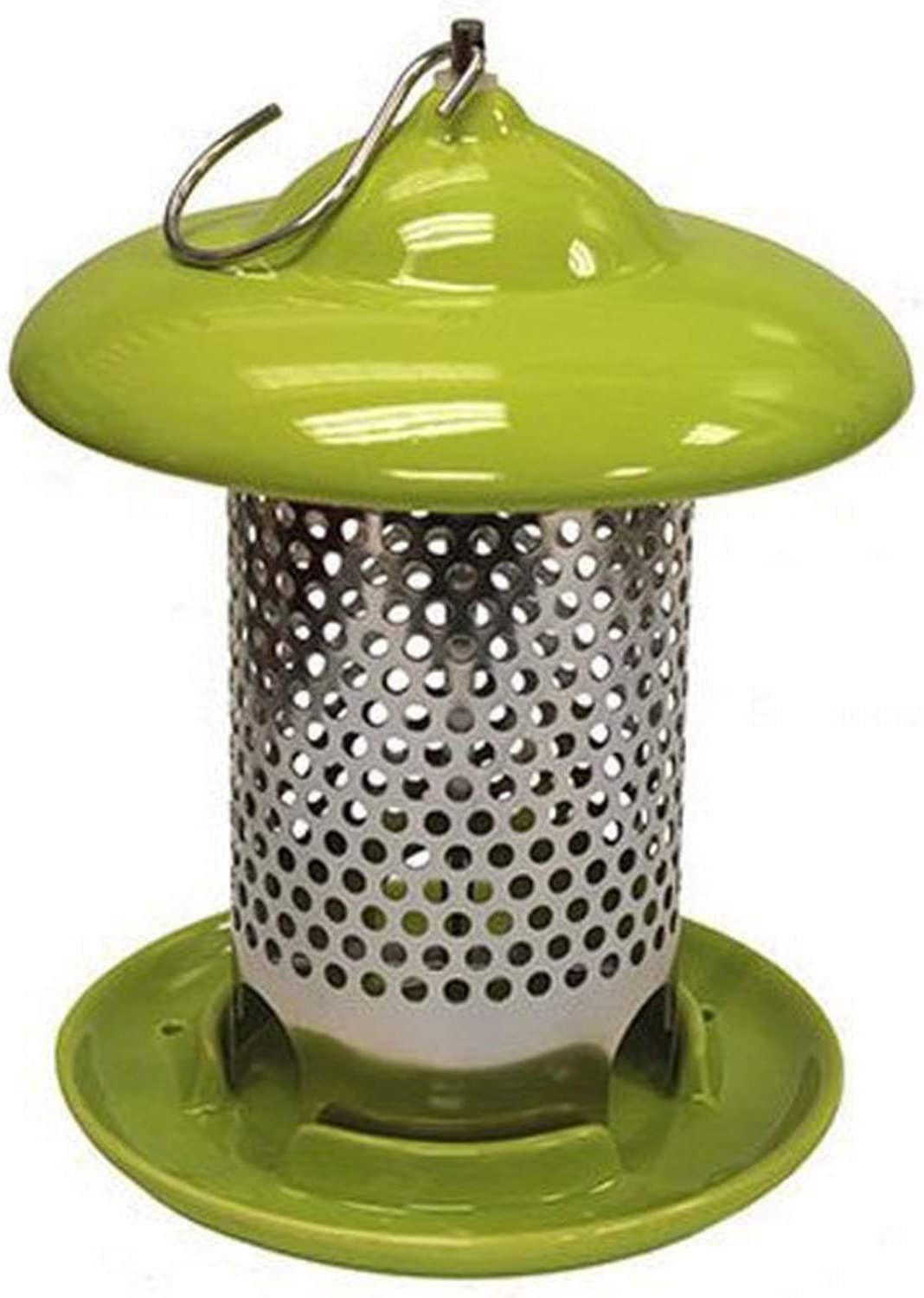 Heath Outdoor Products 20145 Bird Stop Ceramic Feeder, Green