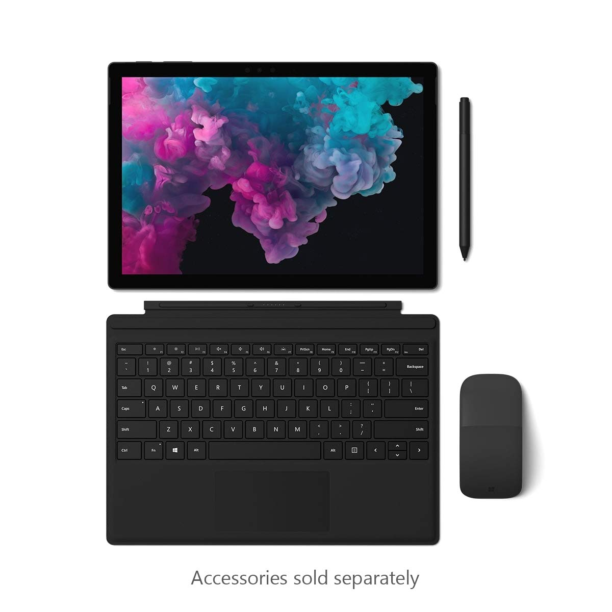 Microsoft Surface Pro 6 (Intel Core i5, 8GB RAM, 256 GB) - Black