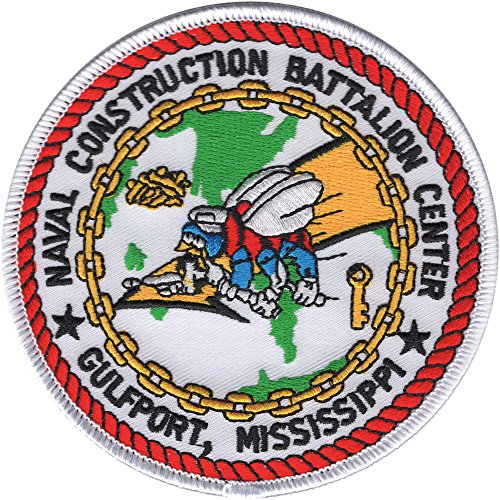 Naval Mobile - Naval Mobile Construction Battalion Center Gulfport Mississippi Patch