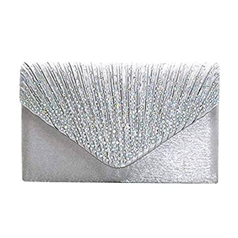 Lorsoul Forma sobre de Las Mujeres Monedero Diamantes de ...