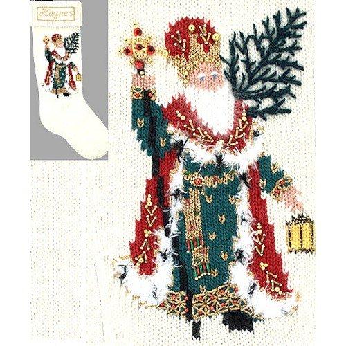 - Elegant Heirlooms Christmas Stocking Kit Regal Santa