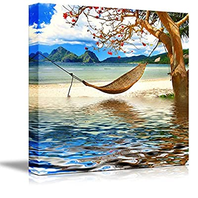 Beautiful Scenery Landscape Tropical Relax Resort Wall Decor, That's 100% USA Made, Lovely Technique