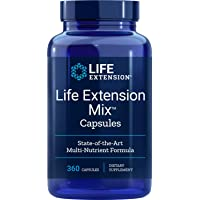 Life Extension Mix (Multi-Vitamin), 360 Capsules, Package may vary