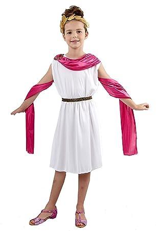 Amazon.com: Las niñas disfraz: Ancient Diosa (Pequeño de 3 ...