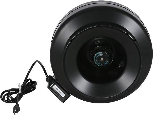 Hurricane GL56736590 Inline 12 in 1060 CFM-736590 Built-in-Household-Ventilation-Fans, 12-Inch, natural