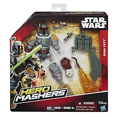 Star Wars Hero Mashers Episode VI Boba Fett: Toys & Games