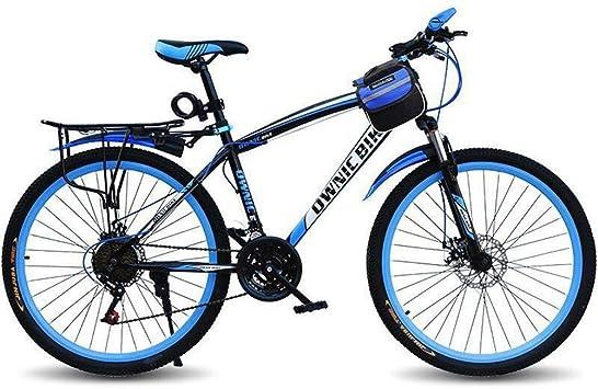 LZGBH Bicicleta De Montaña Frenos De Doble Disco Amortiguador De ...