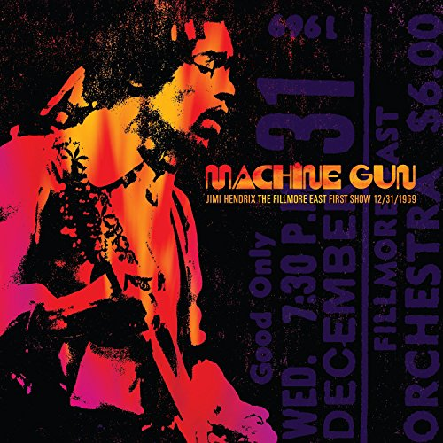 CD : Jimi Hendrix - Machine Gun Jimi Hendrix The Fillmore East First Show 12/ 31/ 1969 (CD)