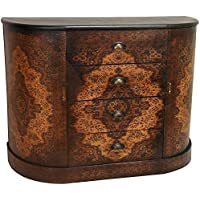 Oriental Furniture Olde-Worlde European Four Drawer Credenza