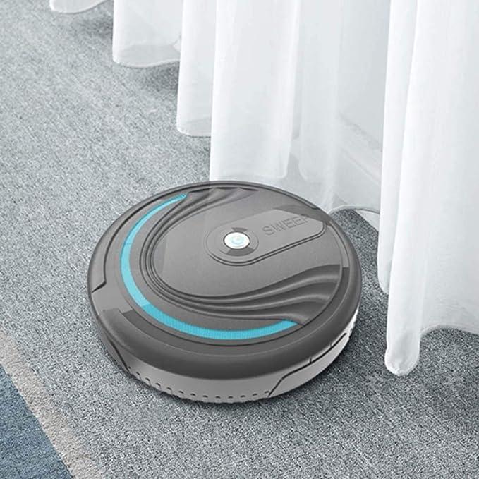omdoxs 3 en 1 Mini Robot de aspiraci/ón autom/ático Inteligente Robot de Limpieza del Piso Aspiradoras
