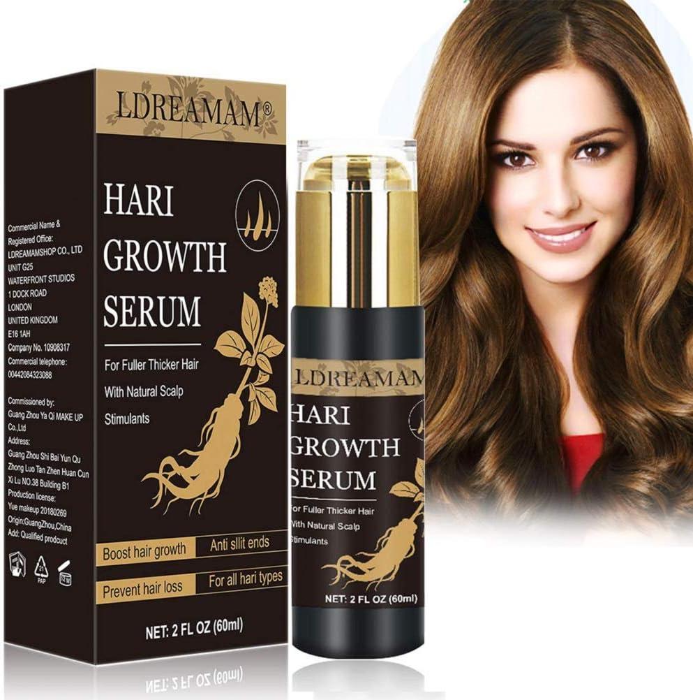 Tratamiento para el Cabello,Sérum de crecimiento del cabello,Hair Growth Serum,Sérum de Crecimiento del Cabello,promueve más cabello ticker, más completo y más rápido crecimiento