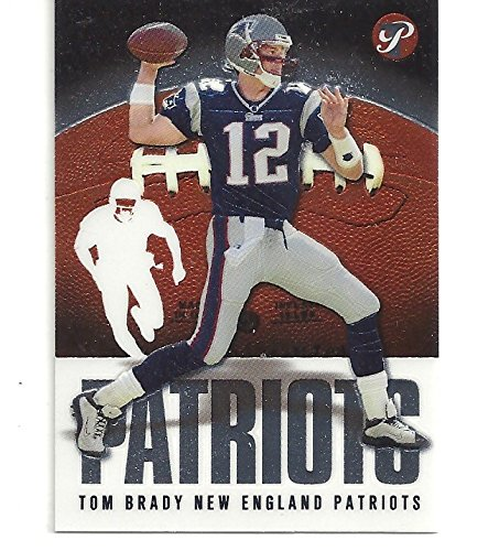 Tom Brady Collectible Football Card - 2003 Topps Pristine Football Card #26 (New England Patriots) Free Shipping ()