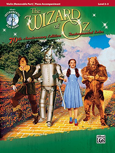 The Wizard of Oz Instrumental Solos for Strings: Violin, Book & CD (Pop Instrumental Solos Series)