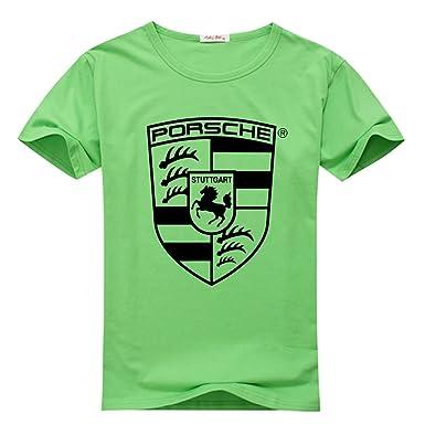 08a52dfd9a7 Franke Tees Porsche Logo Men's Short Sleeve T-Shirt: Amazon.co.uk: Clothing