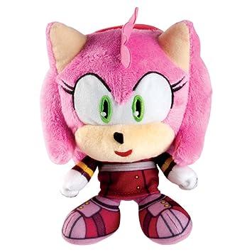 Sonic el erizo t22515aamy 15 cm Sonic Boom Amy rosa cabeza de peluche figura