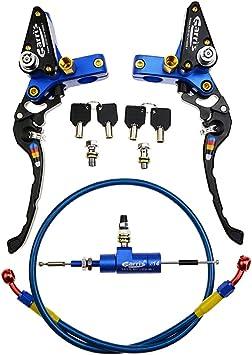 Goofit Blau 22mm 7 8 Hebel Hydraulische Bremspumpe Clutch Fitting Zubehör Taschenschlamm Atv Yz125 Yz250 Yz250f Yz450f Wr250f Wr450f Roller Baumarkt