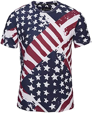 CZPF Men/'s Compression Shirt 3D Digital Printing European and American Animal Print Breathable and Quick-Drying T-Shirt