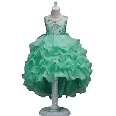 71e6d10a7 Girl Ball Gown Dresses Sleeveless 12-18 Months Lace Tulle Toddler Girl  Dresses 3T Princess