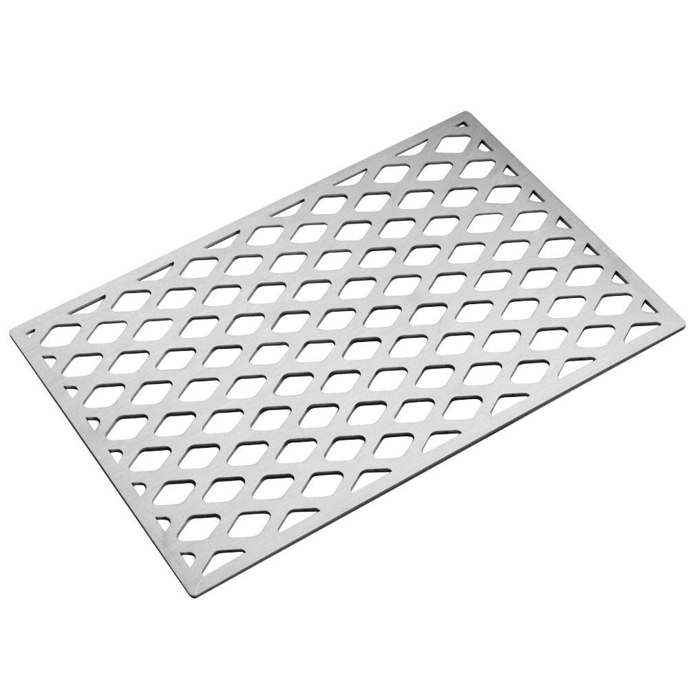Stanbroil Cast Stainless Steel Diamond Pattern Replacement Cooking Grate for Weber 7528 7524, Fits Genesis E, Genesis EP and Genesis S 300 Series Grills,Lowes Model Grills by Stanbroil