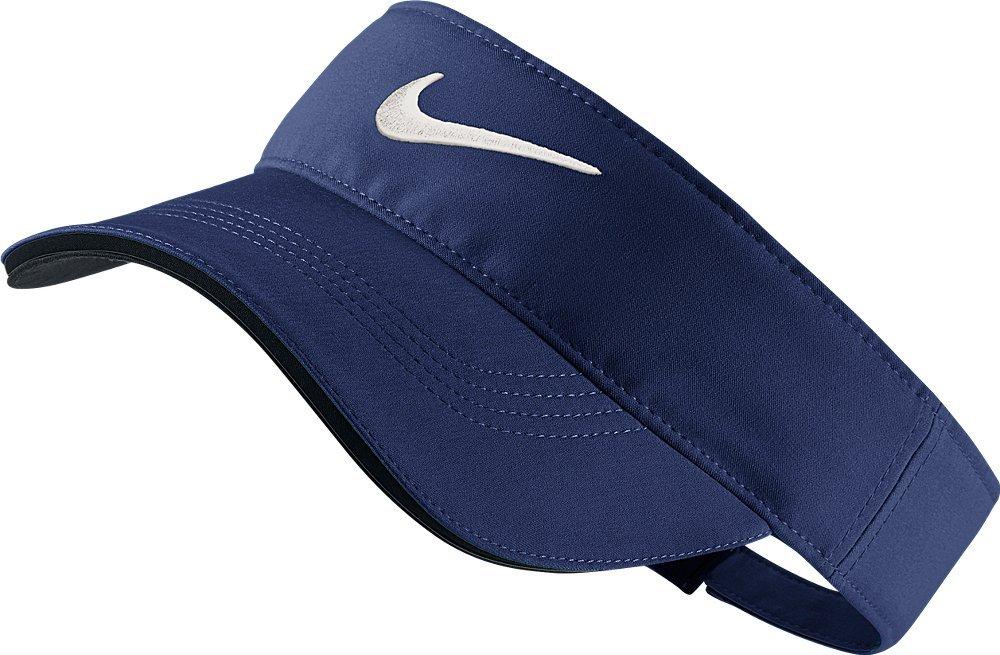 Nike Golf Tech Visor, Midnight Navy, Adjustable by Nike