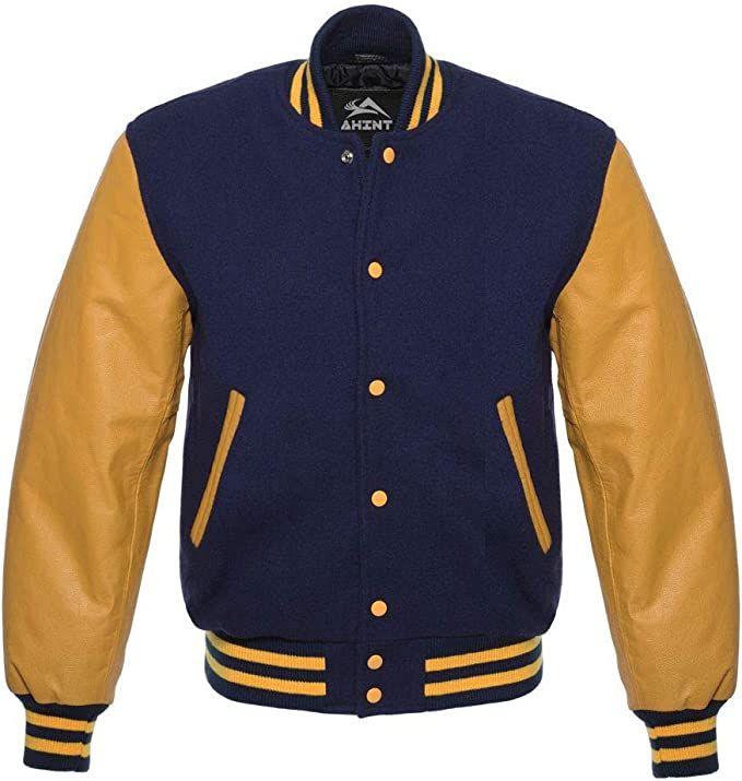 Vintage Coats & Jackets | Retro Coats and Jackets Original Baseball Bomber Varsity Letterman Jackets (40 Team Colors) Wool & Leather XS to 3XL $99.99 AT vintagedancer.com