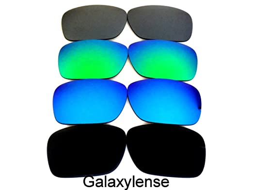 3729619068 Galaxy Replacement lenses For Oakley Holbrook Polarized  Black Blue Green Titanium
