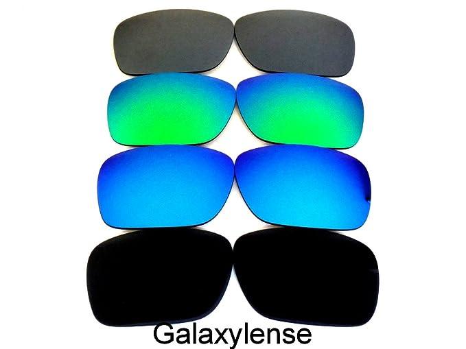 Galaxy Lentes De Repuesto Para Oakley Holbrook POLARIZADOS NEGRO/Azul/Morado Rojo - 4
