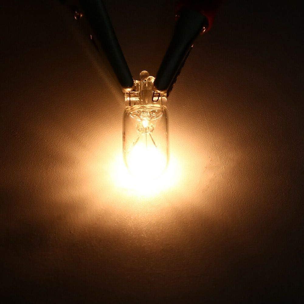 Blanc Chaud 12V 5W T10 W5W 194 168 Feux de Plaque dimmatriculation Voiture Largeur Lampe Ampoules halog/ènes Signal Lumineux Voiture Accessoire MZY1188 10pcs Ampoules halog/ènes