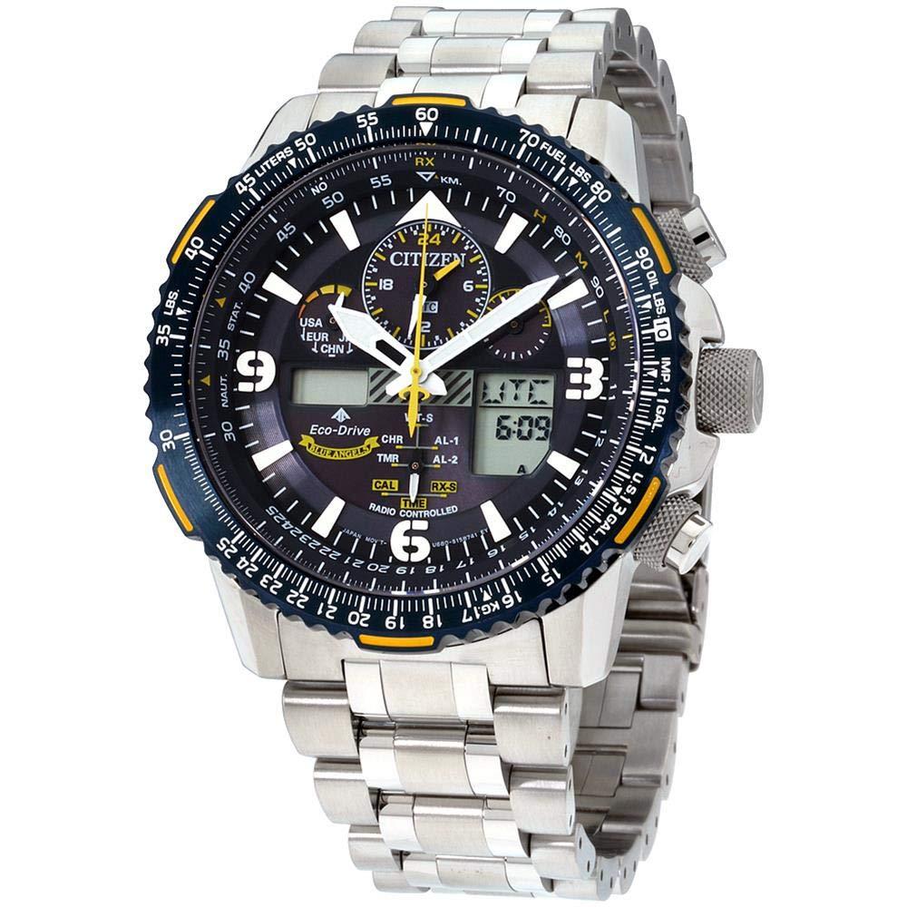 Citizen Promaster Skyhawk A-T Blue Dial Stainless Steel Men's Watch JY8078-52L