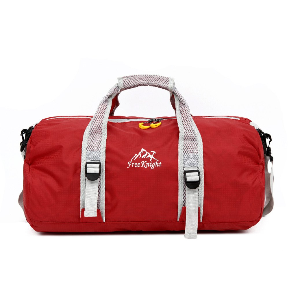 hulorryダッフルバッグショルダーバッグ軽量大多機能防水性アウトドアスポーツハンドバッグLuggageジム登山ハイキングキャンプ旅行 HLCA-PA-CF-LXB0726-R  0726-red B07DYP9JXW