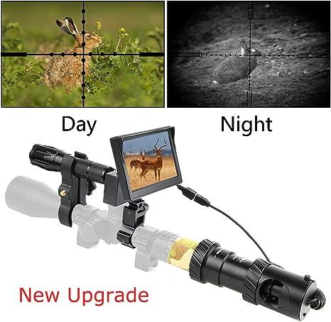 200M Infrared Day/&Night Vision 4.3Inch LCD HD Monitor Optics Sight Wild Hunting