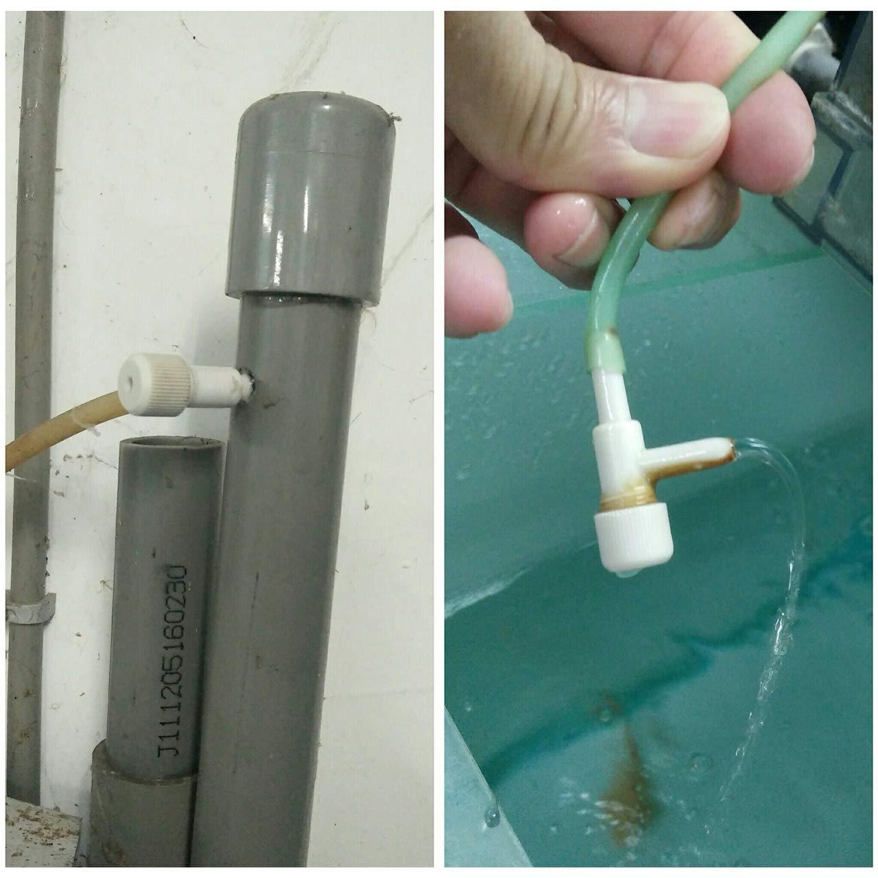 Aquarium Air Flow Control Valve/Fish Oxygen Air Line Tubing Flow Control Valve Pump Accessories