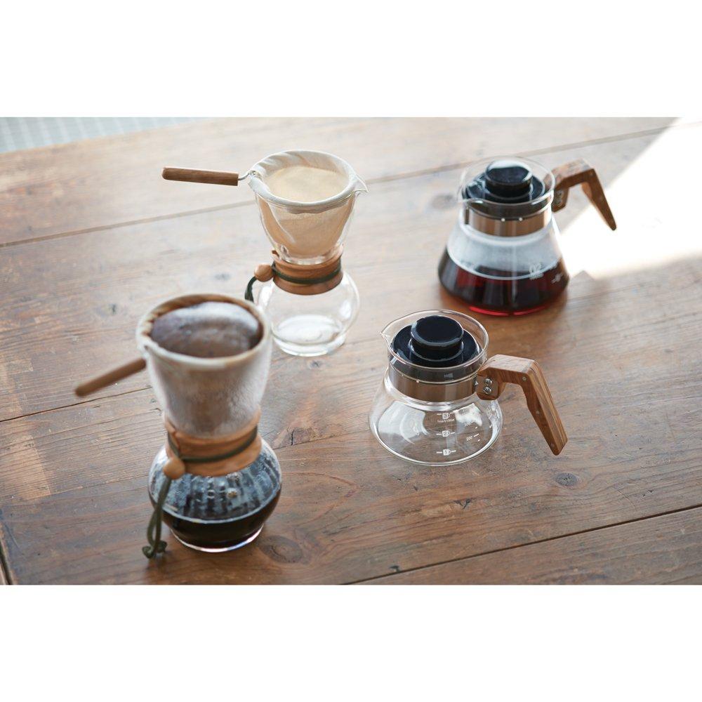 Hario woodneck coffee drip pot - Amazon Com Hario Woodneck Drip Pot 3 Cups Olive Wood Kitchen Dining
