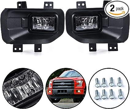 W//Light Bulb Fog Driving Light Lamp Driver Side fit 2015 Ford Pickup F150 F-150