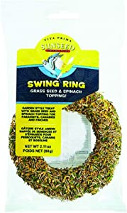 SUNSEED COMPANY 079716 Vita Prime Swing Ring