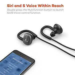 TaoTronics Bluetooth Headphones, In-Ear Earbuds
