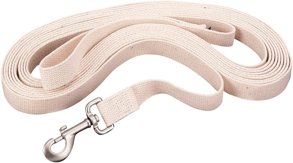 Weaver Leather Flat Cotton Lunge Line with Snap