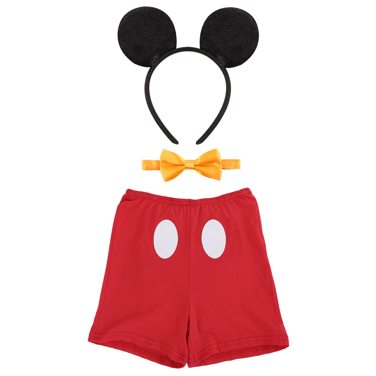 IBTOM CASTLE Cake Smash Outfits Baby Boy 1st Birthday Party Suspenders Diaper Nappy Cover Bow Tie Kids Clothing Christmas Dresses #4 Boxer Red 2-3 Years