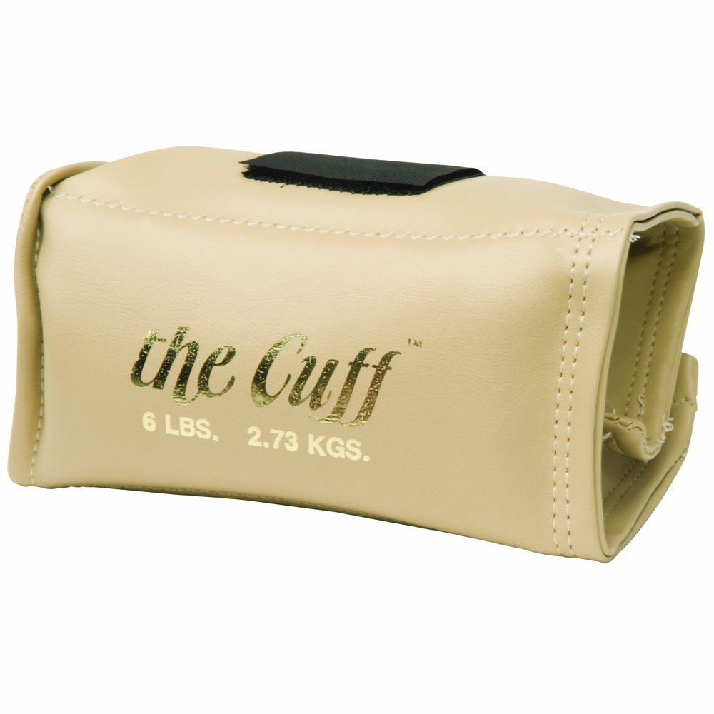 Cando 10-0210 Tan Cuff, 6 lbs Weight, For Wrist or Ankle