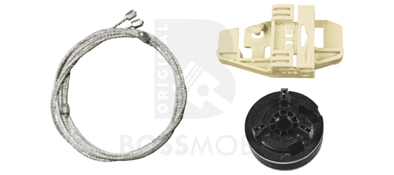 Bossmobil Modus (F/JP0_), Delantero izquierdo, kit de reparación de elevalunas eléctricos