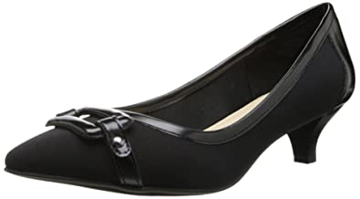 Womens Shoes Anne Klein Melanie Black Fabric