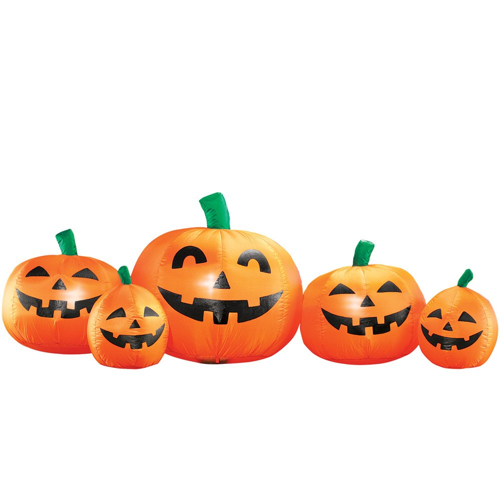Collections Etc Inflatable Halloween Pumpkin Patch
