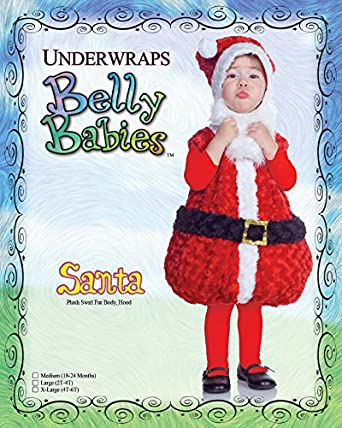 Underwraps Costumes Babys Santa Costume