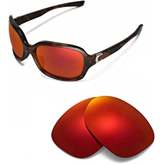 996b2fe2935ec Walleva Replacement Lenses for Oakley Pulse- Multiple Options (Black ...