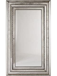 Hooker Furniture Melange Glamour Armoire Storage, Champagne Colored Antique  Silver And Gold