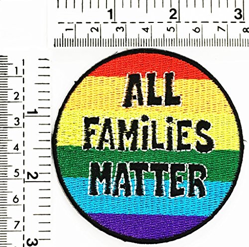 All Families matter logo fantasy joke funny word kids cartoon patch Applique for Clothes Great as happy birthday gift