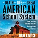 The Death and Life of the Great American School System: How Testing and Choice Are Undermining Education Audiobook by Diane Ravitch Narrated by Eliza Foss