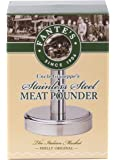 Fantes Meat Pounder, Stainless Steel, 5-Inches Tall with 3.25-Inch Pounding Surface, The Italian Market Original since…