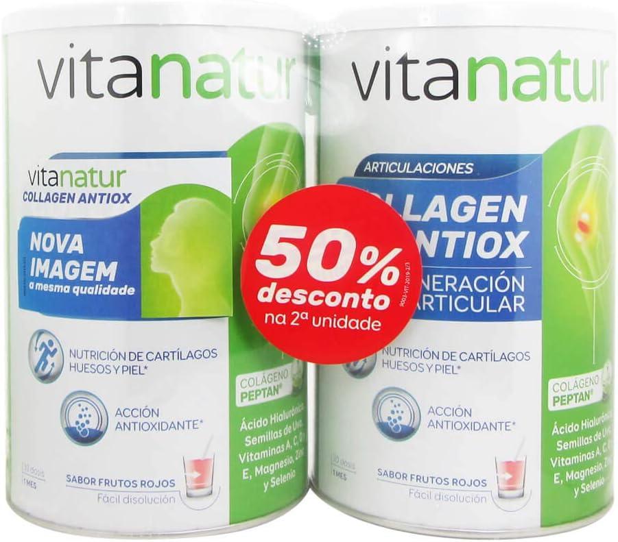 Vitanatur Pack Vitanatur Collagen Antiox 2 x 360 gr - 1 Unidad