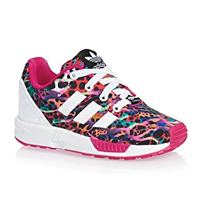 8c64aaab8fc1b adidas Originals Girls  ZX Flux Low-Top Sneakers Pink pink Size Kids ...
